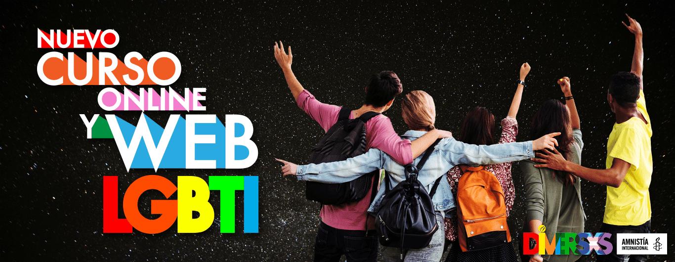 Nuevo curso online y web lgbti